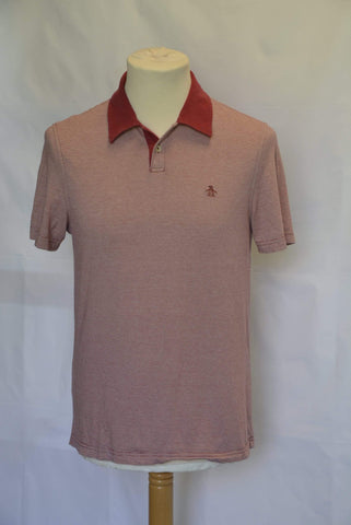 Original Penguin Men's Polo Shirt Size Small