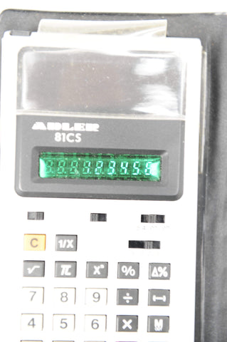 Retro 1970s Adler 81cs Calculator *working*