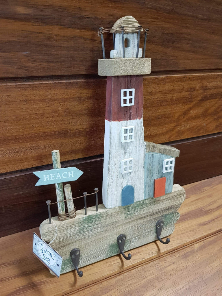 Rustic Lighthouse Key Hook *New Stock
