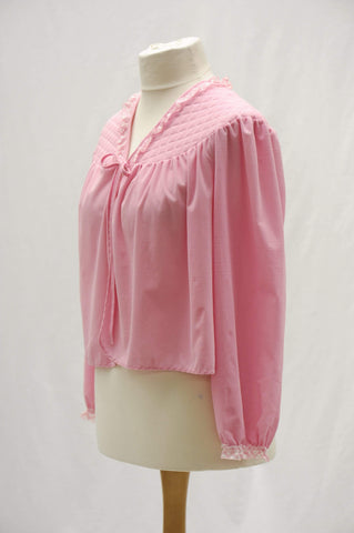 Vintage 1960s  babydoll bed coat