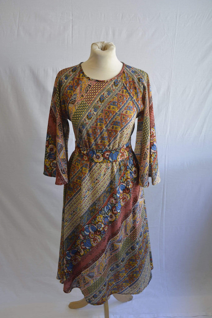 Vintage 1970s Hildebrand Liberty boho dress
