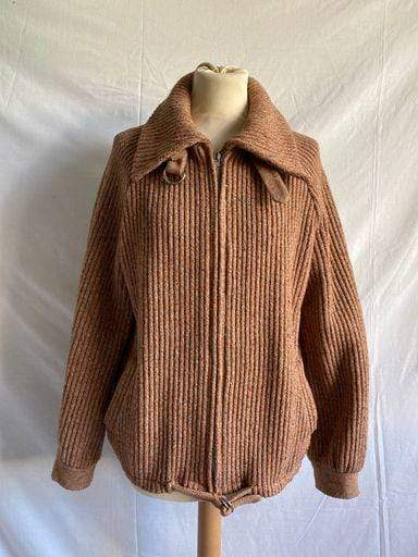 Vintage 1970s Mark Russell knitted bomber jacket
