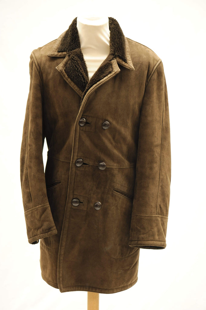 Vintage 1970s St Michael sheepskin coat