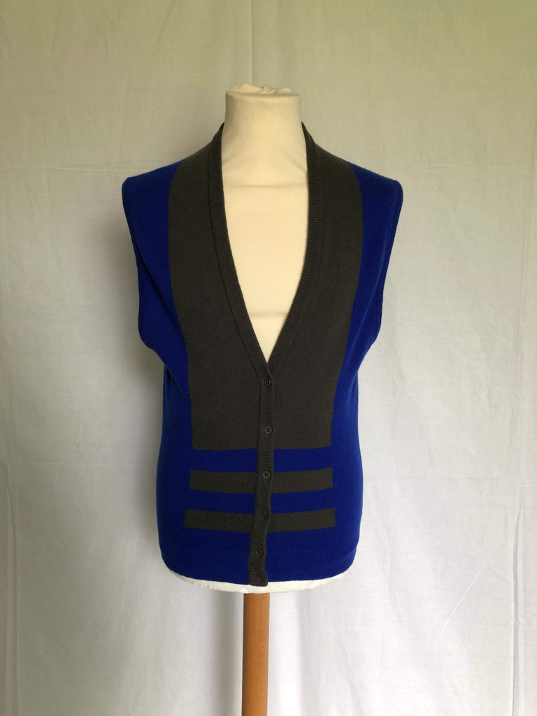 Vintage 1980s Jaeger knitted waistcoat