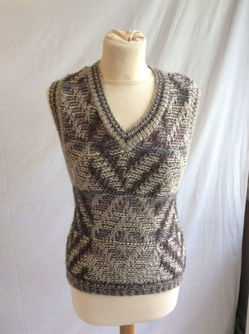Vintage 1980s knitted tank top