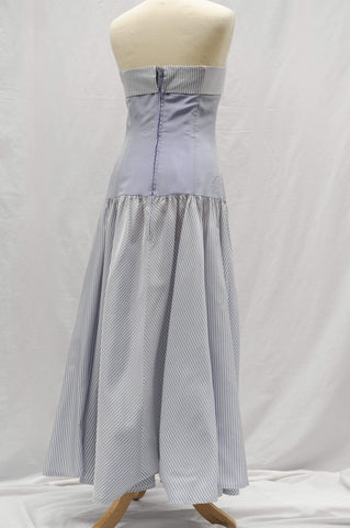Vintage 1980s Laura Ashley cocktail dress 1950s style