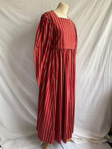 Vintage 1980s Laura Ashley striped dress