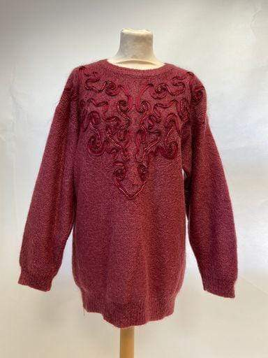 Vintage 1980s mohair knitted jumper