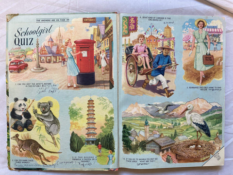 Vintage book - Girls' Crystal Annual 1959