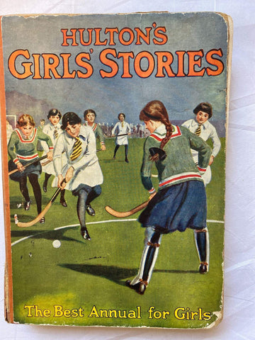Vintage book - Hulton's Girls' Stories: The best annual for girls