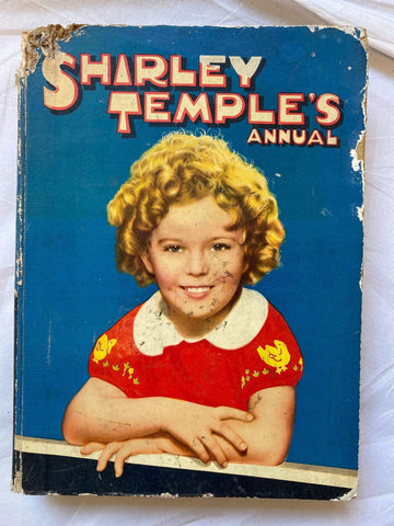 Vintage book -  Shirley Temple's Annual