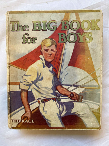Vintage book The Big Book for Boys: The Race