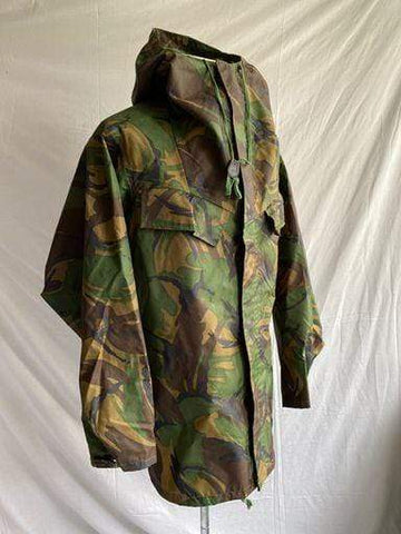 Vintage oversized British Military Camouflage waterproof Parka