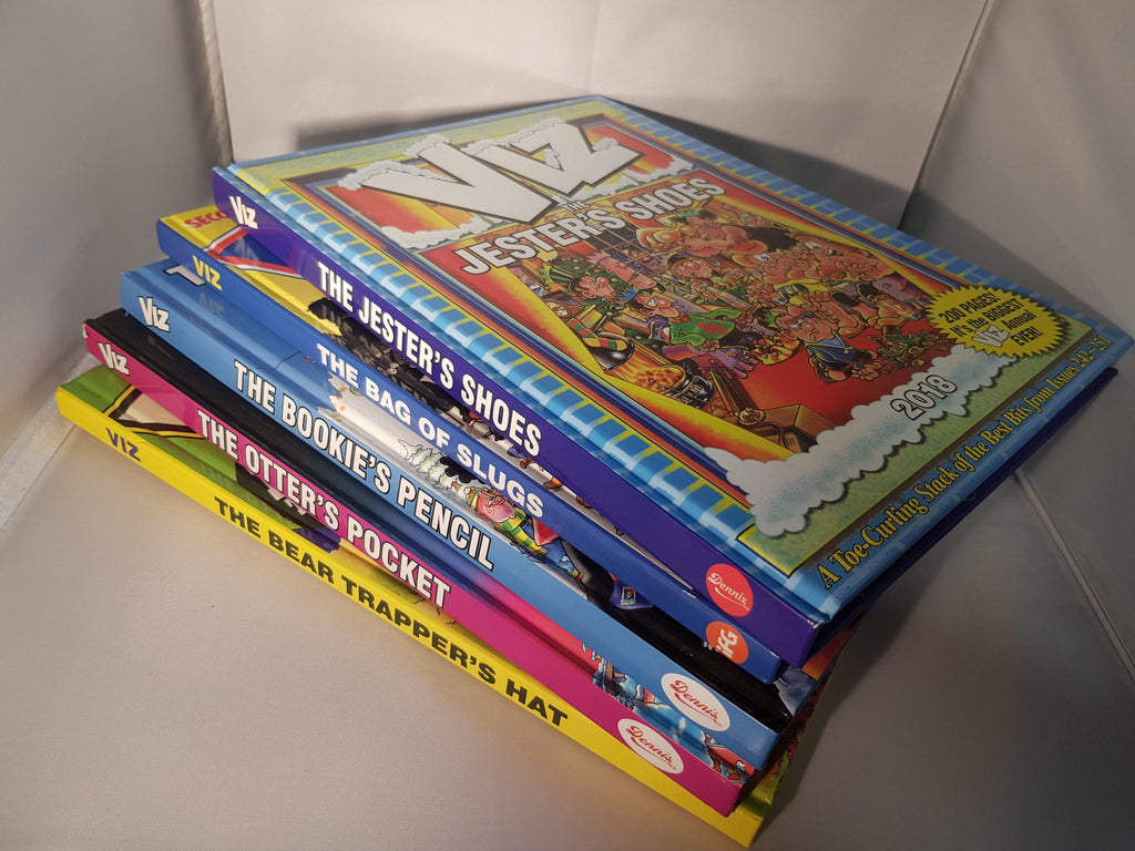 VIZ adult comic annual bundle ~1