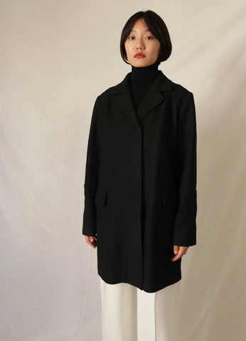 MARNI BOILED WOOL COAT