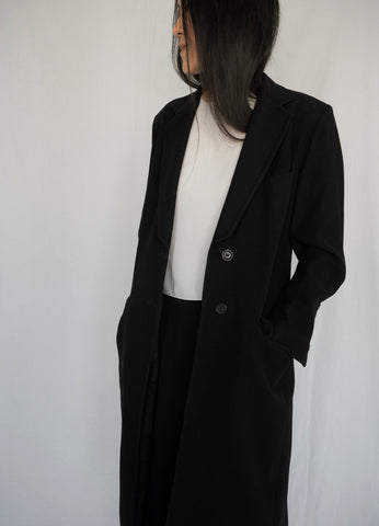 DRIES VAN NOTEN LIGHT WOOL COAT