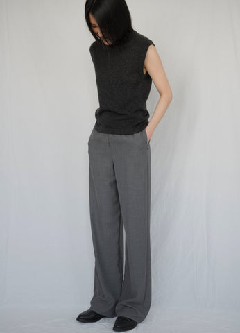 HERMÈS BY MARGIELA LARGE SILK AND WOOL PANT