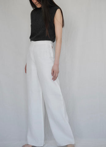 HERMÈS BY MARGIELA LARGE LINEN PANT