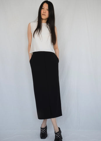 HERMÈS BY MARGIELA TAILORED MAXI SKIRT