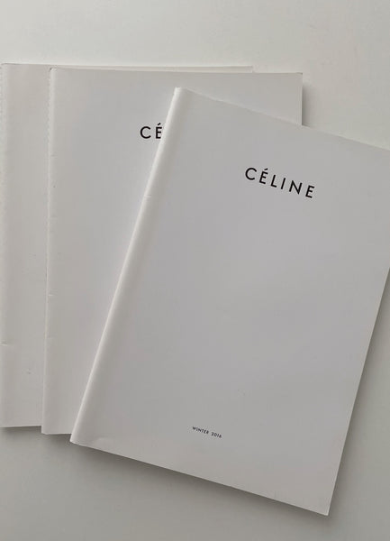 CÉLINE FALL 2016 CATALOGUE