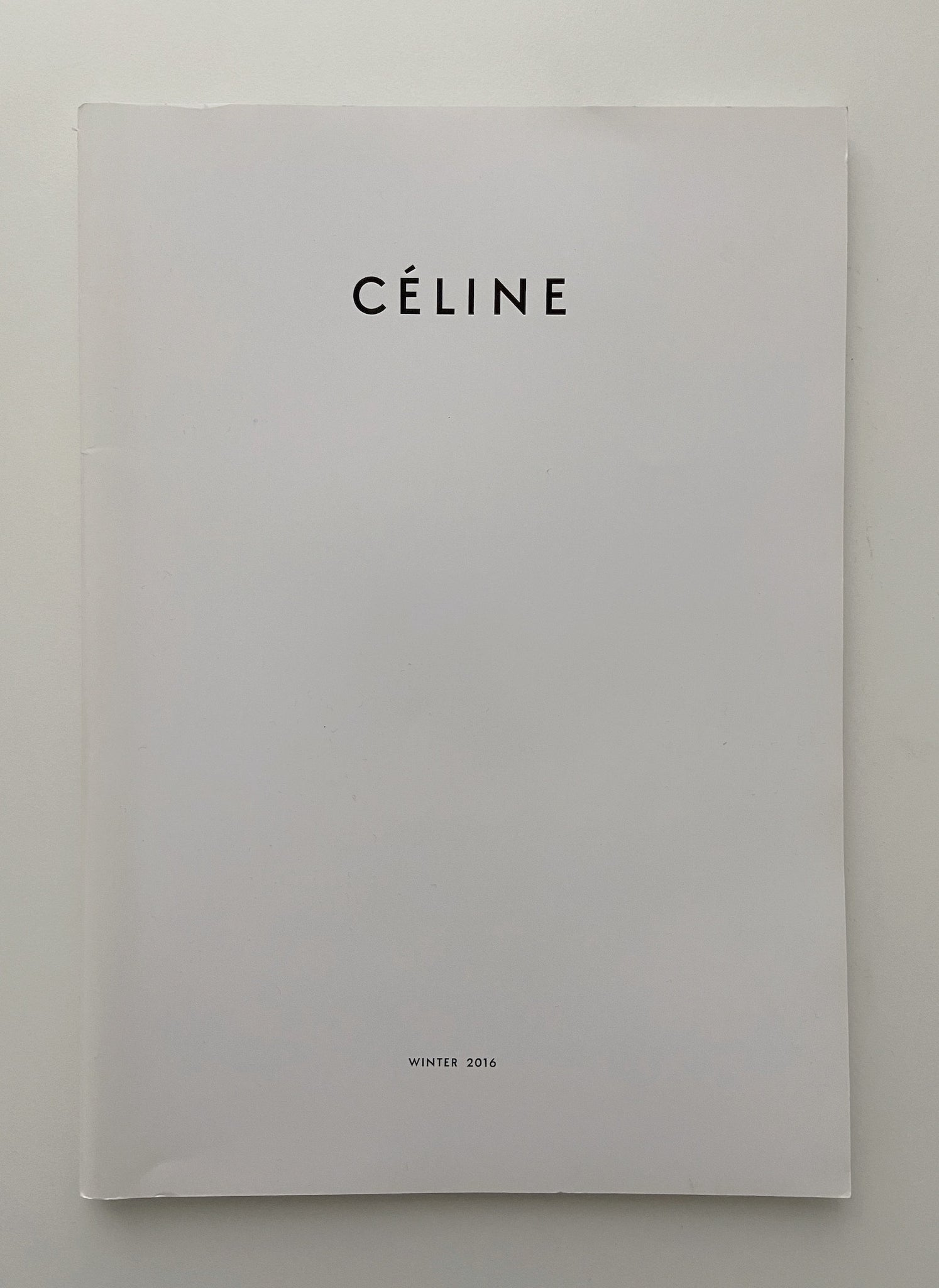 CÉLINE WINTER 2016 CATALOGUE