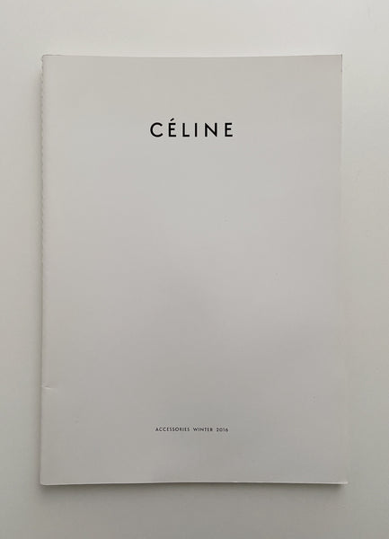CÉLINE WINTER 2016 ACCESSORIES CATALOGUE