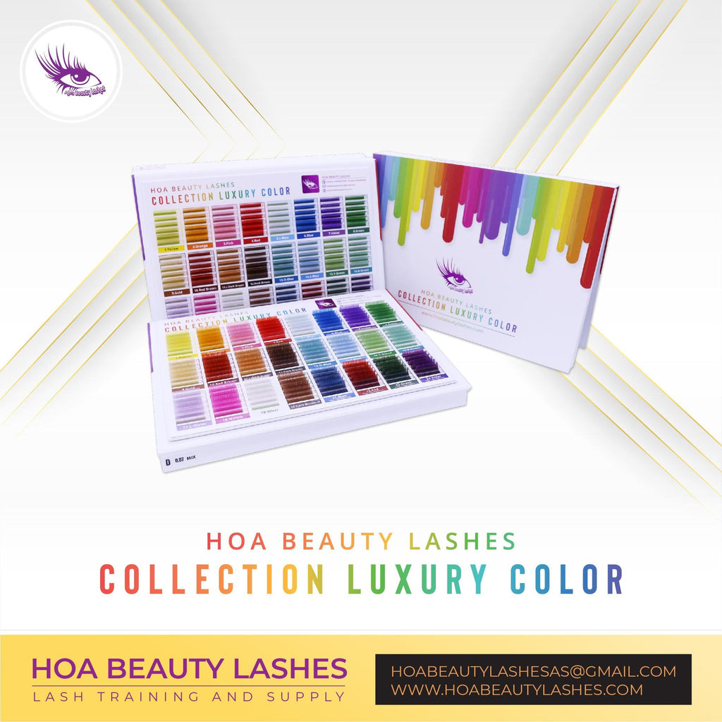 Hoabeautylashes - Collection Luxury Color