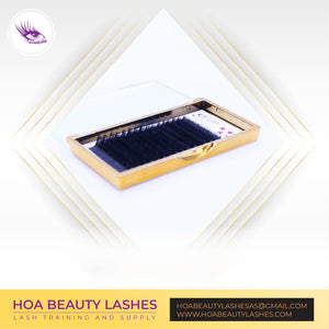 Hoabeautylashes - Single Size – Gold Volume Lashes