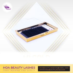 Hoabeautylashes - Gold Mix Size Volume
