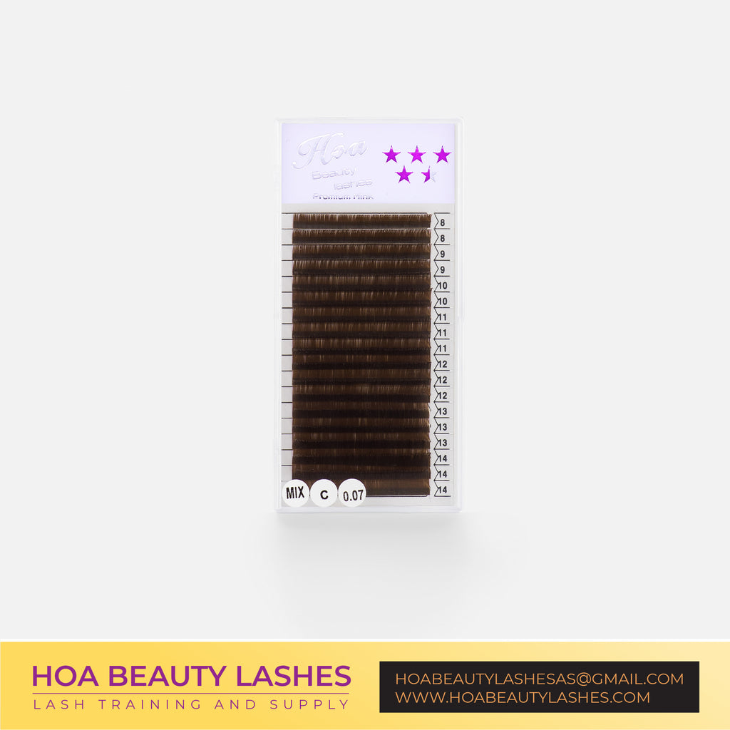 Hoabeautylashes - Brown Lashes