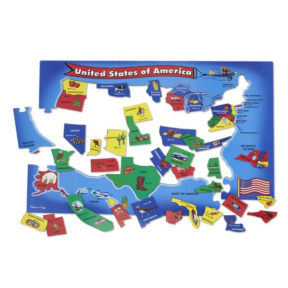 Melissa & Doug USA Map