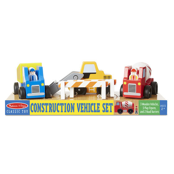Melissa & Doug Construction Vehicle Set