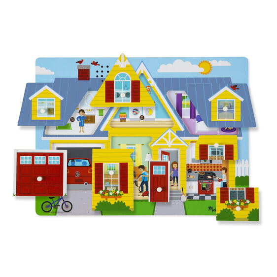 Melissa & Doug See & Hear Puzzle - Around the House