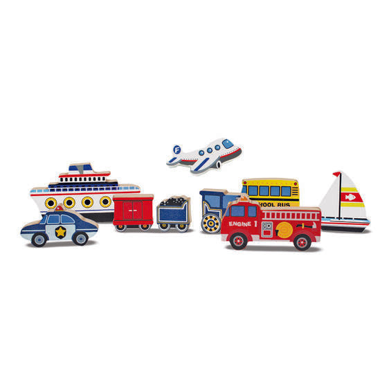 Melissa & Doug Chunky Puzzles - Vehicles