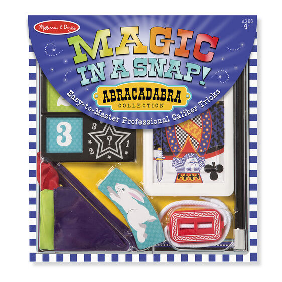 Melissa & Doug Magic in a Snap! Abracadabra Collection