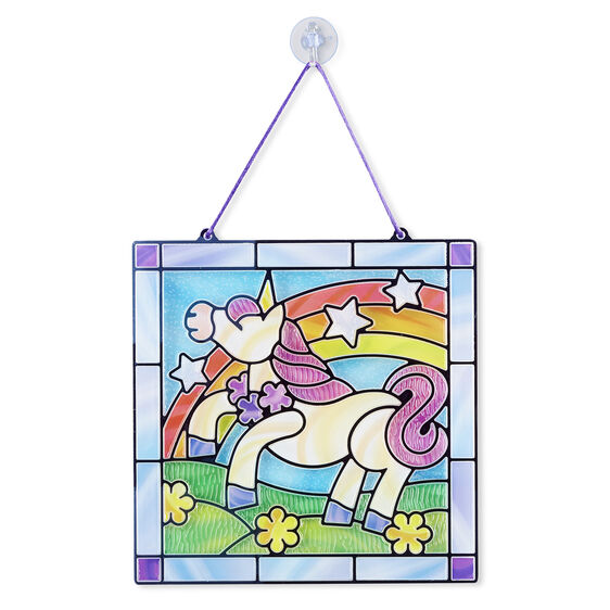 Melissa & Doug Stained Glass - Unicorn