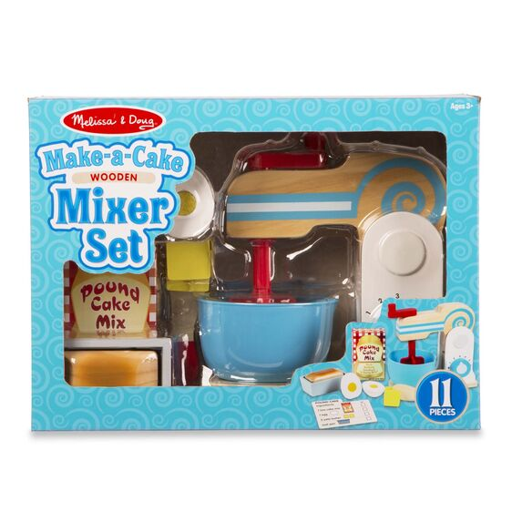 Melissa & Doug Make A Cake Mixer Set
