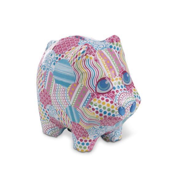 Melissa & Doug Decoupage Made Easy- Piggy Bank