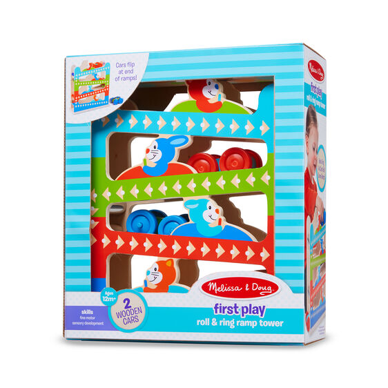 Melissa & Doug Roll & Ring Ramp Tower