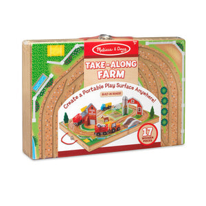 Melissa & Doug Take Along Vehicle Sets - Take Along Farm