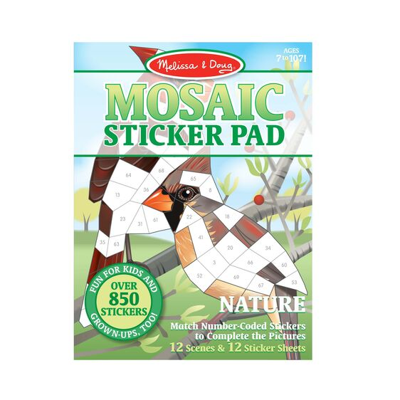 Melissa & Doug Mosaic Sticker Pads - Nature