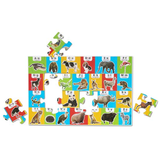 Melissa & Doug Animal Alphabet