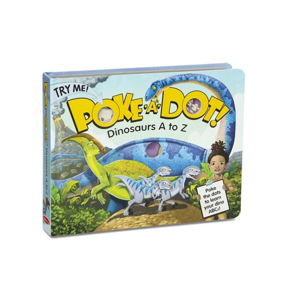 Melissa & Doug Poke A Dot Books - Dinosaurs A to Z