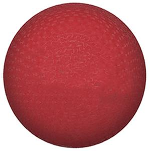 "Playground Ball 13"" Nylon Red -- Comes Inflated"