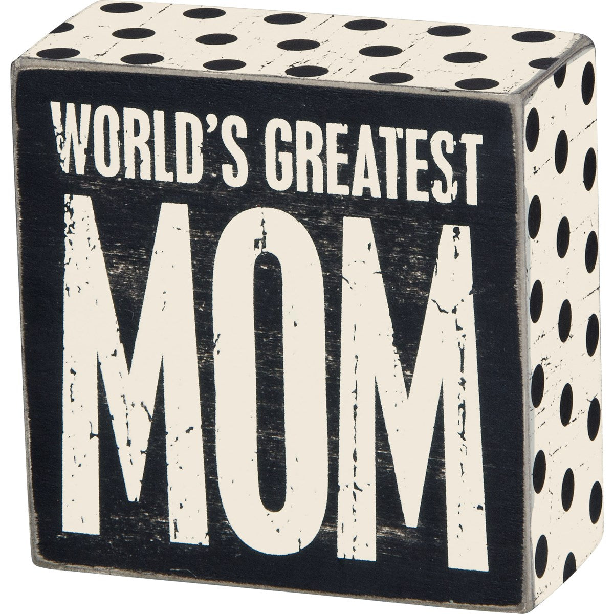 Box Sign - Greatest Mom