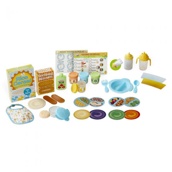 Melissa & Doug Mine to Love Mealtime Play Set