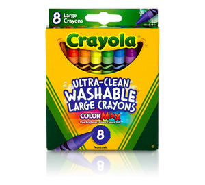 Crayola Kid's Ultra Clean Large Washable Crayons 8 ct.