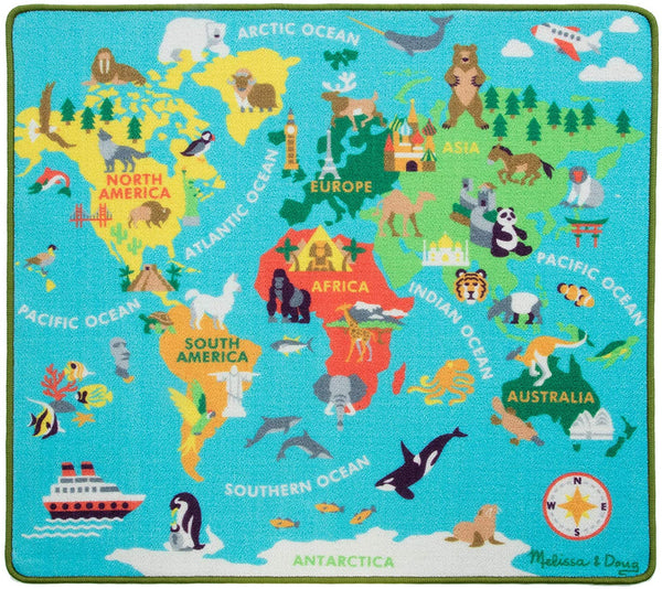 Melissa & Doug Round the World Travel Rug