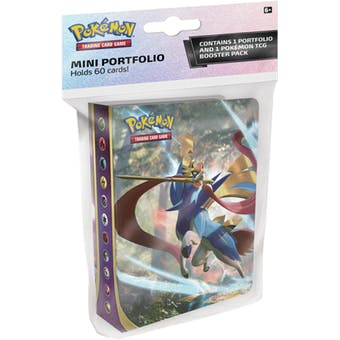 Pokémon TCG: Sword & Shield Mini Portfolio & One Booster Pack