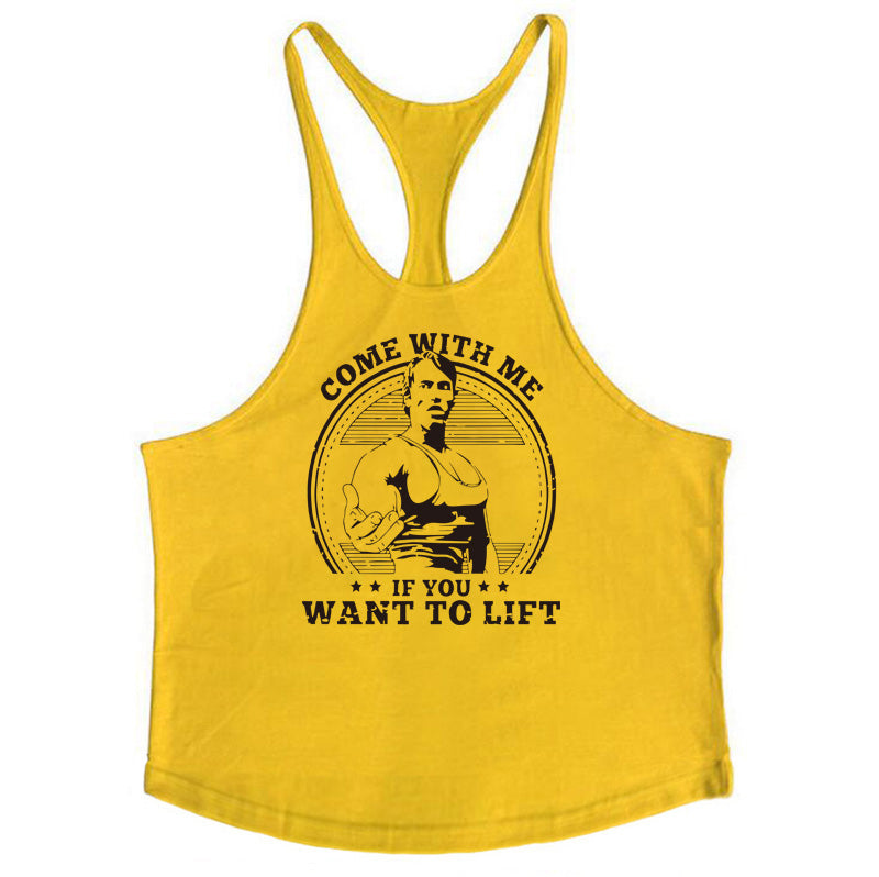 `Come with me if you want to lift` Tank Tops